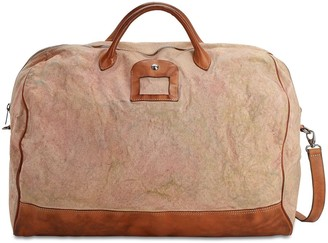 Numero 10 Weekender Cotton & Leather Bag