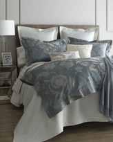 Sferra Queen Striped Jacquard Fitted Sheet