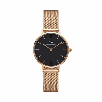 Daniel Wellington Unisex Adult Analogue Quartz Watch with Stainless Steel Strap DW00100217