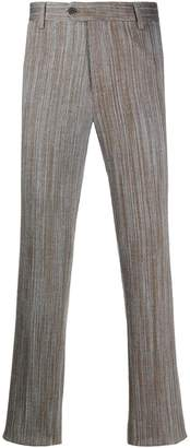 Missoni wave-pattern trousers