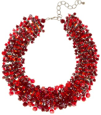 Eye Candy Los Angeles Bauble Wreath Collar Necklace