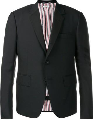 Thom Browne Plain Weave 4-Bar Suit
