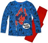 Marvel Boys Official Spiderman Pajamas New Kids Cotton Sleepwear PJS