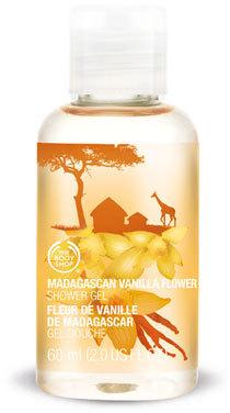 The Body Shop Madagascan Vanilla Flower Mini Shower Gel