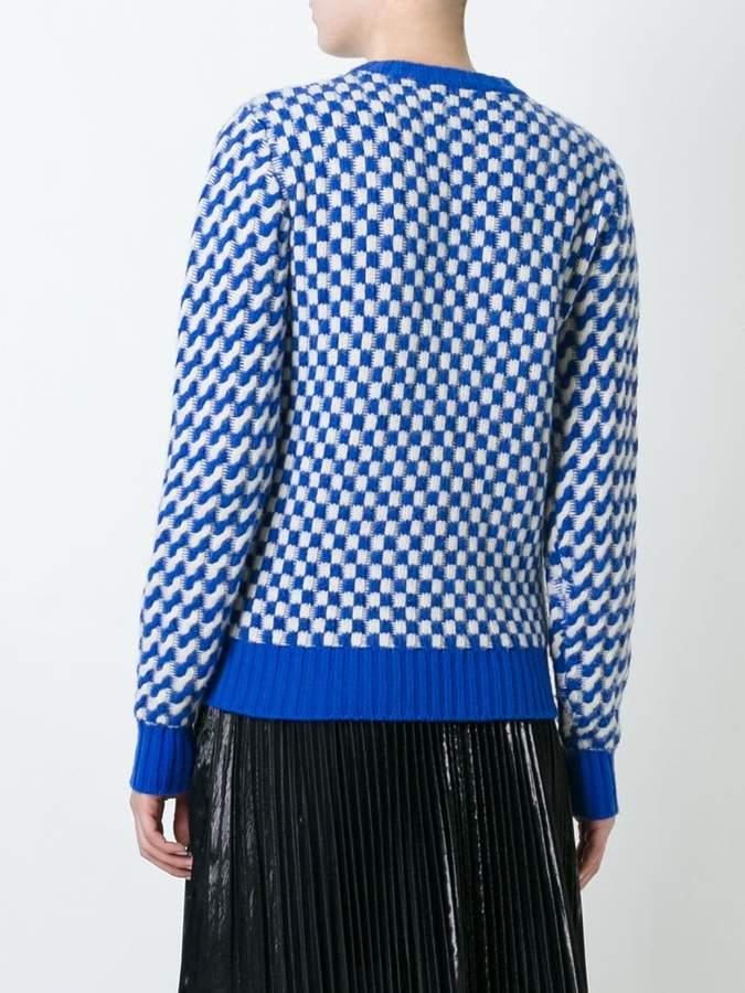 Golden Goose Deluxe Brand wavy knit jumper