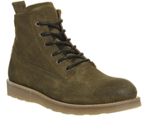 Ask The Missus Eton Wedge Lace Boots