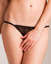 Damaris Archimedes Peep Lace V-Bikini