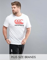 Canterbury of New Zealand PLUS Logo T-Shirt In White E546720-001