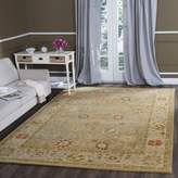 """Safavieh AT859B-9 Antiquity Collection Handmade Taupe and Beige Wool Area Rug, 8' 3 """" x 11'"""