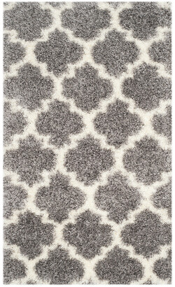 Safavieh Sgm-Montreal Shag Power-Loomed Synthetic-Blend Contemporary Rug