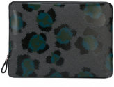 Kenzo printed pouch - unisex - Leather - One Size