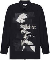 Helmut Lang Segmented Rose Shirt