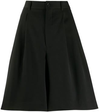 Comme des Garcons Cropped Culotte Trousers