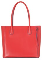 Lodis Cecily Leather Tote - Coral
