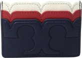 Tory Burch Scallop-T Slim Card Case Credit card Wallet