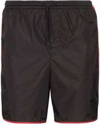 Gucci Interlocking GG stripe swim shorts