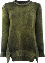 Avant Toi ribbed detail jumper - women - Cashmere - XS