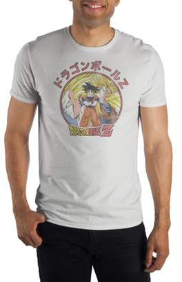 "Dragon Ball Z Dragonball Z Men's Kanji ""Characters"" Vintage Short Sleeve Graphic Tee"