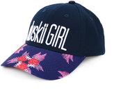 Duskii Girl - floral logo cap - kids - Cotton - One Size
