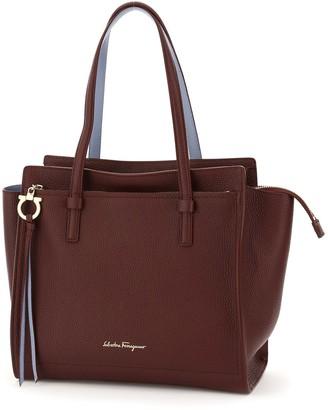 Salvatore Ferragamo Medium Double Handle Tote Bag