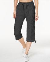 Calvin Klein Cropped Poplin Cargo Pants
