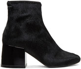 MM6 MAISON MARGIELA Black Pony Boots