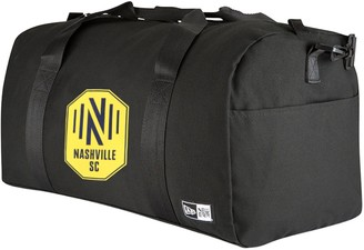 New Era Black Nashville SC Canvas Small Duffel Bag
