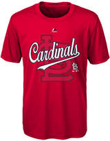 Majestic St. Louis Cardinals The Game Poly T-Shirt, Big Boys (8-20)