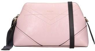 Givenchy I D Xbody Shoulder Bag In Rose-pink Leather