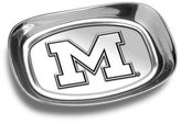 Wilton Armetale University of Michigan Bread Tray in Silver