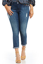 Jessica Simpson Plus Forever Rolled Ankle Skinny