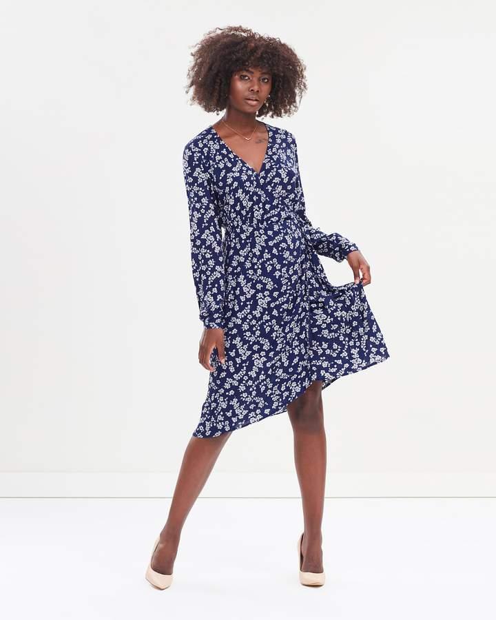 Atmos & Here Jaimie Wrap Dress