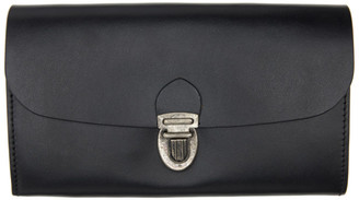 Ann Demeulemeester Black Classic Barcis Wallet