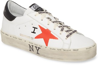 Golden Goose Hi Star NYC Graphic Platform Sneaker