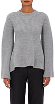 Co Women's Flared-Sleeve Sweater-LIGHT GREY