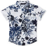 Manuell & Frank Toddler Boys) Printed Short Sleeve Shirt