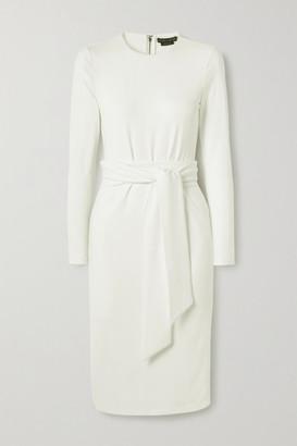 Alice + Olivia Alice Olivia - Delora Stretch-crepe Dress - White