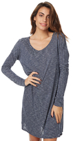 Volcom Galoree Long Sleeve Womens Dress Blue