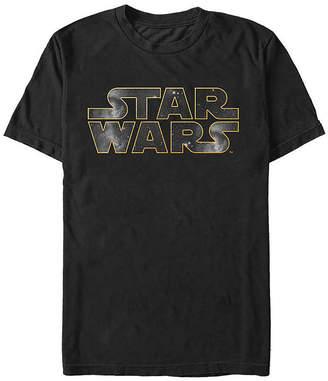Fifth Sun Logo Mens Crew Neck Short Sleeve Star Wars Graphic T-Shirt
