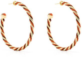 Gas Bijoux Torride hoop earrings
