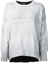 Avant Toi crackled effect jumper - women - Cashmere/Merino - M