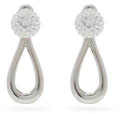 Loewe Drop Crystal-embellished Earrings - Crystal