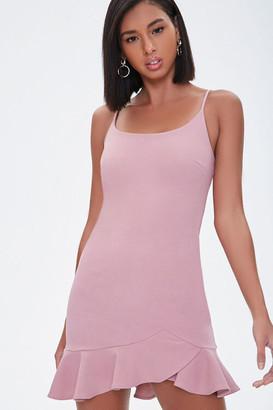 Forever 21 Ruffled Cami Mini Dress