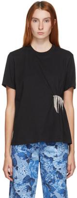 MSGM Black Crystal T-Shirt