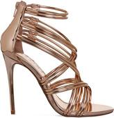 Office Nadia strappy metallic sandals