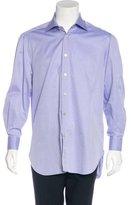 Kiton Woven French Cuff Shirt