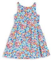 Ralph Lauren Toddler's, Little Girl's & Girl's Floral-Print Fit-&-Flare Dress