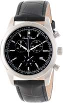 Lucien Piccard Men's LP-11570-01 Eiger Chronograph Dial Leather Watch