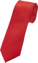 Oxford Silk Tie Red
