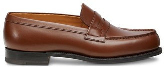 Jm Weston 180 Calfskin Box Wagtail Moccasin